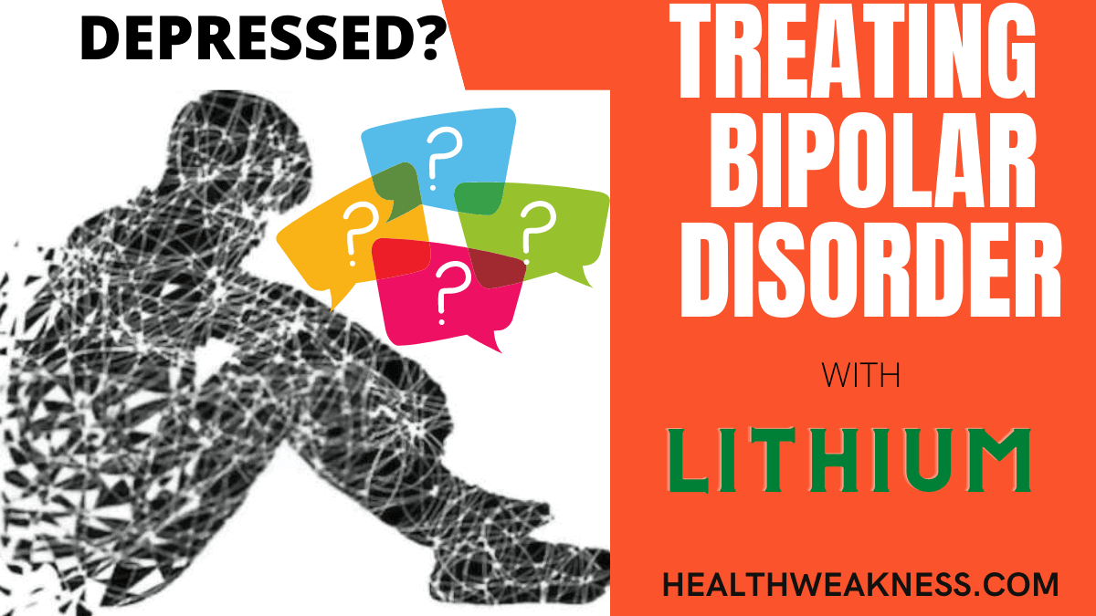 Lithium for depression and bipolar disorder