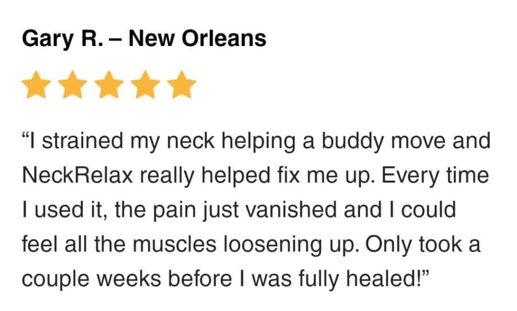 neckrelax reviews