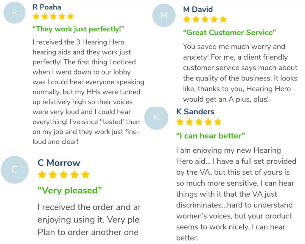 Hearing Hero reviews