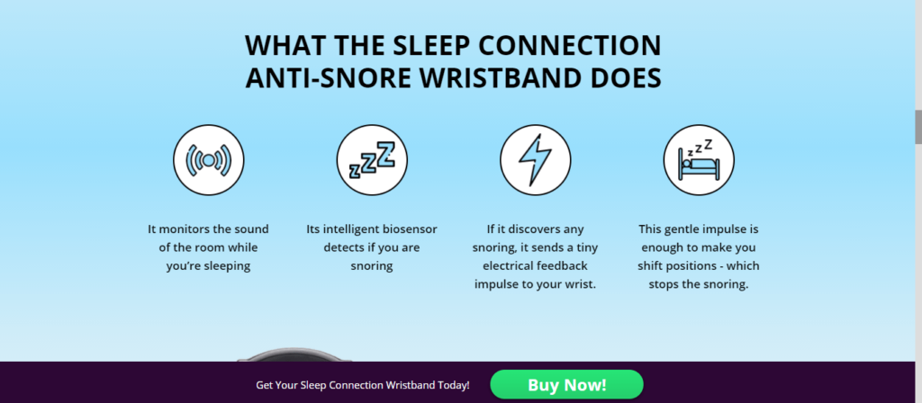 Sleep connection review